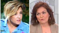 La breve y contundente respuesta de Cristina Pardo a esta contradicción de Carmen