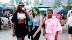 Toutes les photos du gros party Osheaga à Aire