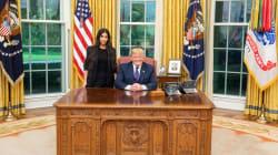 Trump a commué la peine de la détenue soutenue par Kim Kardashian, un message
