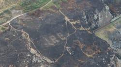 En Irlande, un incendie a révélé un souvenir de la Seconde guerre
