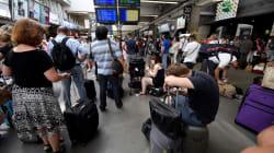 Les images des voyageurs bloqués en gare