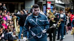 Les zombies ont envahi le centre-ville de