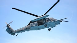 空自ヘリ墜落か 浜松沖で消息を絶つ