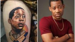 A tatuagem do 'Chris' feita em Osasco que deixou o ator Tyler James Williams