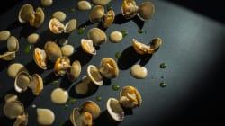 Berberechos en crema de boletus, una receta fácil y