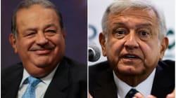 Carlos Slim envía carta a AMLO para