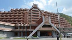 北朝鮮の豪華リゾート「馬息嶺スキー場」とは(画像集)