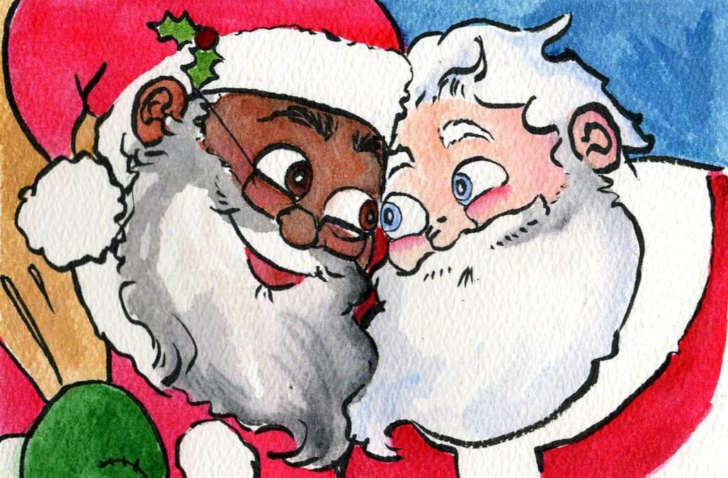 gay sex med Santa