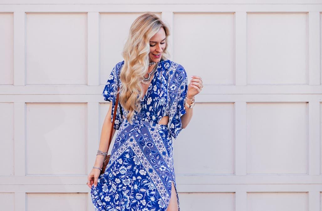e157cfa705f61 Street style tip of the day: Boho maxi dresss - AOL Lifestyle