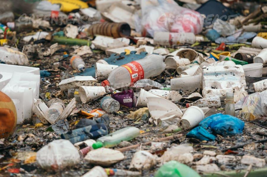 Los mares de México están atestados con envases de Coca Cola