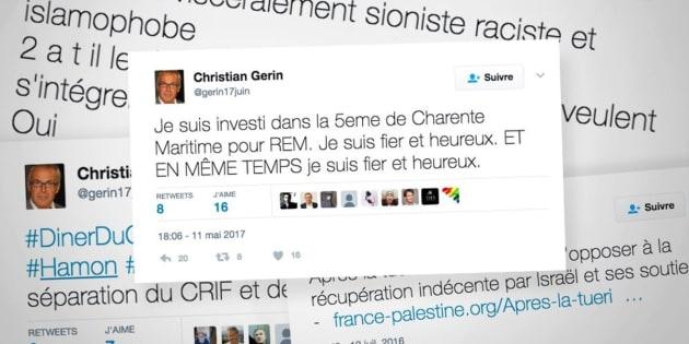"""Législatives 2017: Le candidat de """"La République en Marche"""" Christian Gérin suspendu pour ses propos à connotation antisémite"""