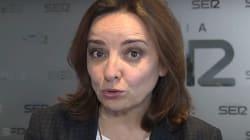 El 'hachazo' de Pepa Bueno al PSOE y a Podemos por el