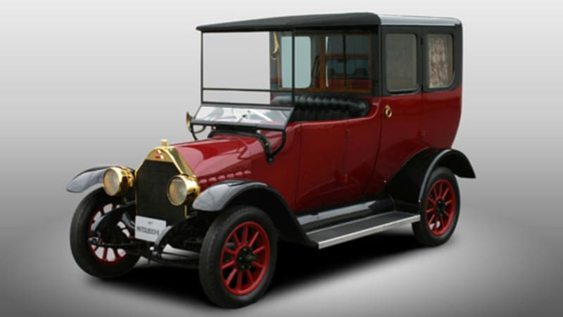 Mitsubishi Celebrates 100 Year Old Car With Phev Re