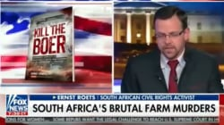 AfriForum's Roets Tells Fox News 'Parliament Has Already Decided' About Expropriation... But It