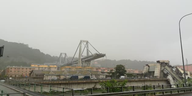 Gênes le pont Morandi le viaduc quinquagénaire très critiqué qui avait été renforcé en 2016