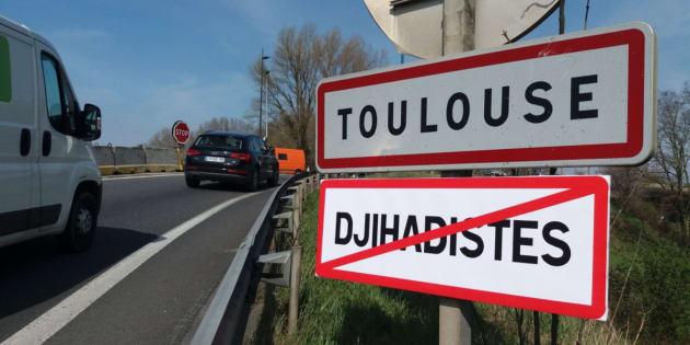 Toulouse: des panneaux contre les djihadistes installés aux portes de la ville