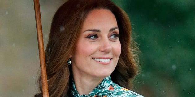 Catalina de Cambridge en el homenaje a Diana en el palacio de Kensington.