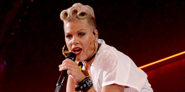 Pink aux MTV Video Music Awards.