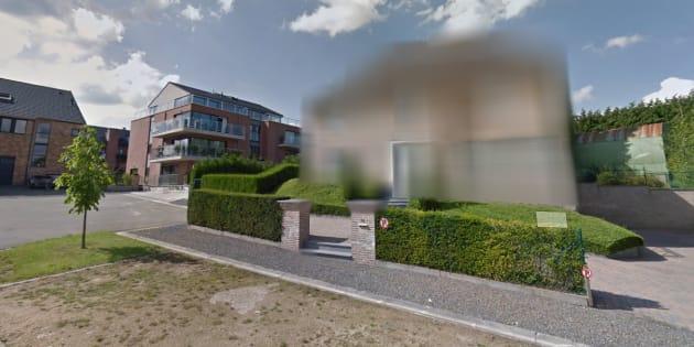 Captura de la casa de Puigdemont en Google Maps.