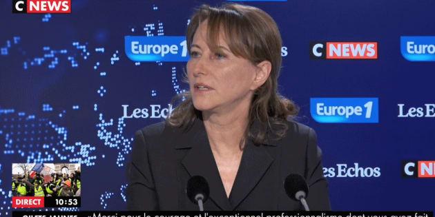 Ségolène Royal défend l'interpellation des lycéens à Mantes