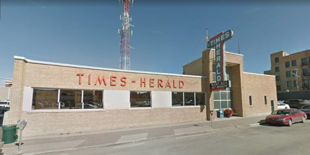 The Moose Jaw Times-Herald was founded as a weekly paper in 1889 and went daily in 1906.