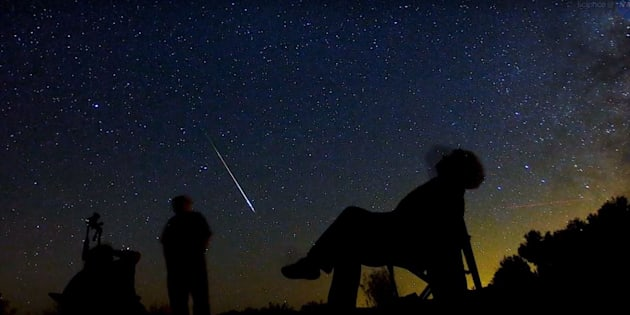 O céu será invadido por uma chuva de estrelas cadentes visíveis a olho nuna noite da próxima quarta-feira (13) e durante a madrugada de quinta-feira (14).