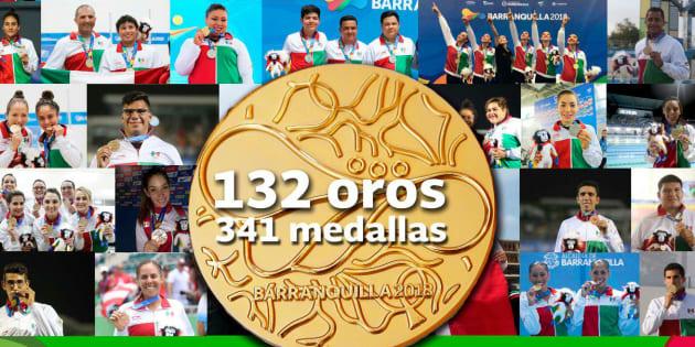 Mexico Se Viste De Oro Ya Es Campeon De Los Juegos Centroamericanos