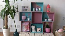Comment fabriquer une bibliothèque avec des caisses à