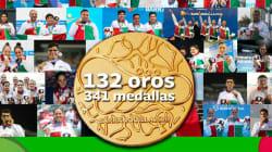 México se viste de oro; ya es campeón de los Juegos Centroamericanos