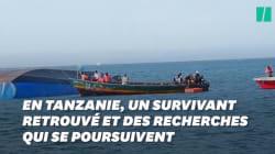 En Tanzanie, un survivant a été retrouvé trois jours après le naufrage du