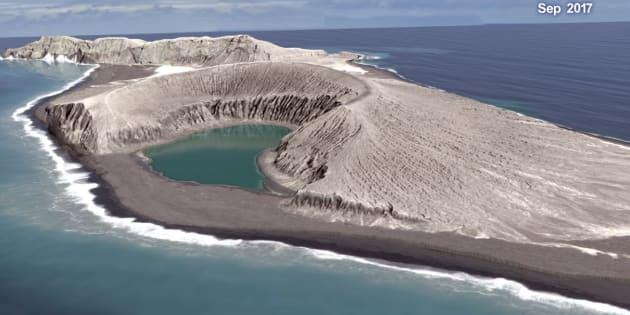 Cette nouvelle île du Pacifique pourrait ressembler aux anciennes îles martiennes
