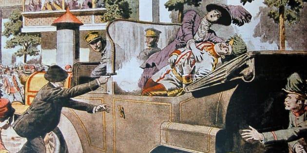 L'assassinat de François Ferdinand n'a pas grand chose à voir avec celui d'Andreï Karlov.