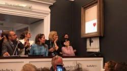 El corte final: Banksy reconoce que su broma de arte triturado no salió como lo
