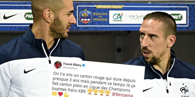 Après la victoire du Real, Ribéry félicite Benzema et critique sa non-sélection en équipe de France