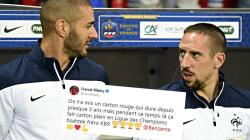 Après la victoire du Real, Ribéry félicite Benzema et critique sa non-sélection en équipe de