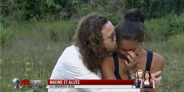 Maxime et Alizée sont prêts à abandonner quand ils découvrent qu'ils doivent dormir dans une tente.
