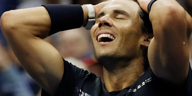 Rafael Nadal made light work of South African Kevin Anderson.