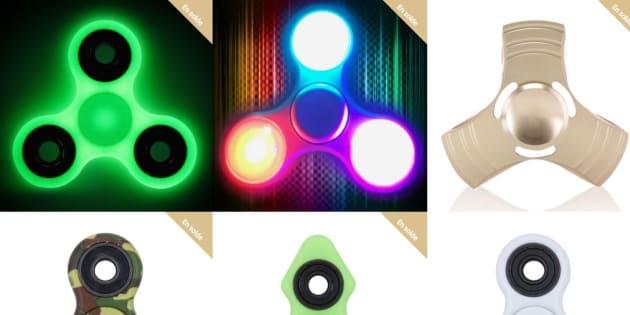 Améliorer l'esthétique des hand spinners avec des couleurs LED, luminescentes, etc., permet de multiplier les prix par trois ou plus. Comme pour les Pogs, à la fin des années 1990.
