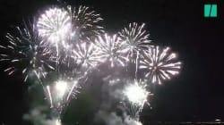 Les images du premier feu d'artifice tiré sur la Prom' à Nice depuis l'attentat du 14 juillet