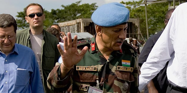 Lieutenant General Bipin Rawat  in a file photo.