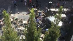 Les images de Münster après qu'un véhicule a foncé dans la