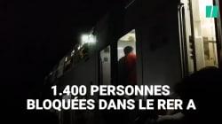 1400 personnes sont restées bloquées pendant 3 heures dans le RER