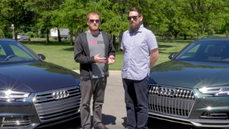 2017 Audi A4: Allroad vs. sedan: We explain the differences