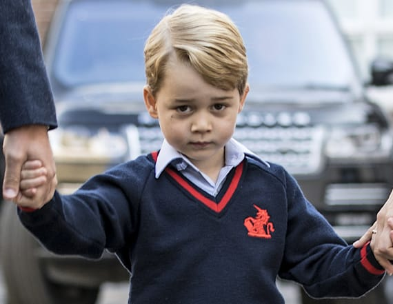 Prince George 'didn't want to go' to school