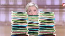 Les fiches de Marine Le Pen ne sont pas passées