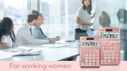 Críticas a Casio por crear una calculadora rosa