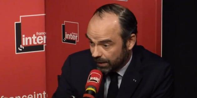 Edouard Philippe sur France inter jeudi 5 avril.