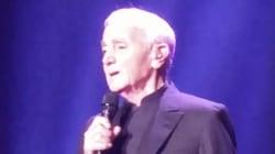 À 93 ans, Charles Aznavour remplit son premier