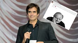 David Copperfield rend un hommage touchant à son ami Joël