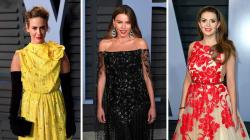 Todos los vestidos de la fiesta de 'Vanity Fair' de los Oscar